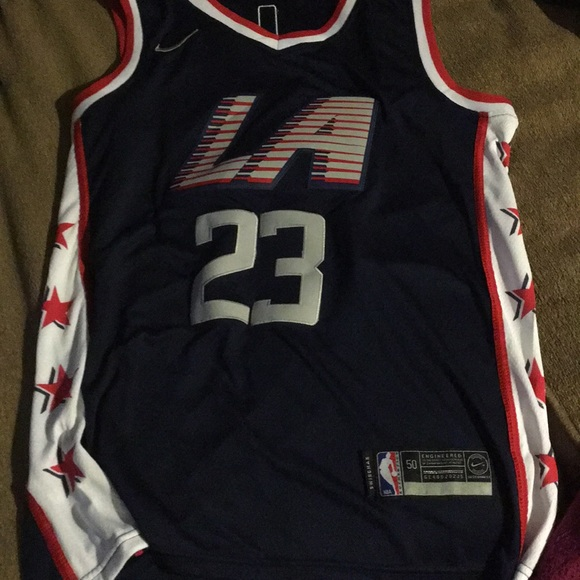 online store df3b6 b0dfe Lou Williams LA clippers jersey City Edition